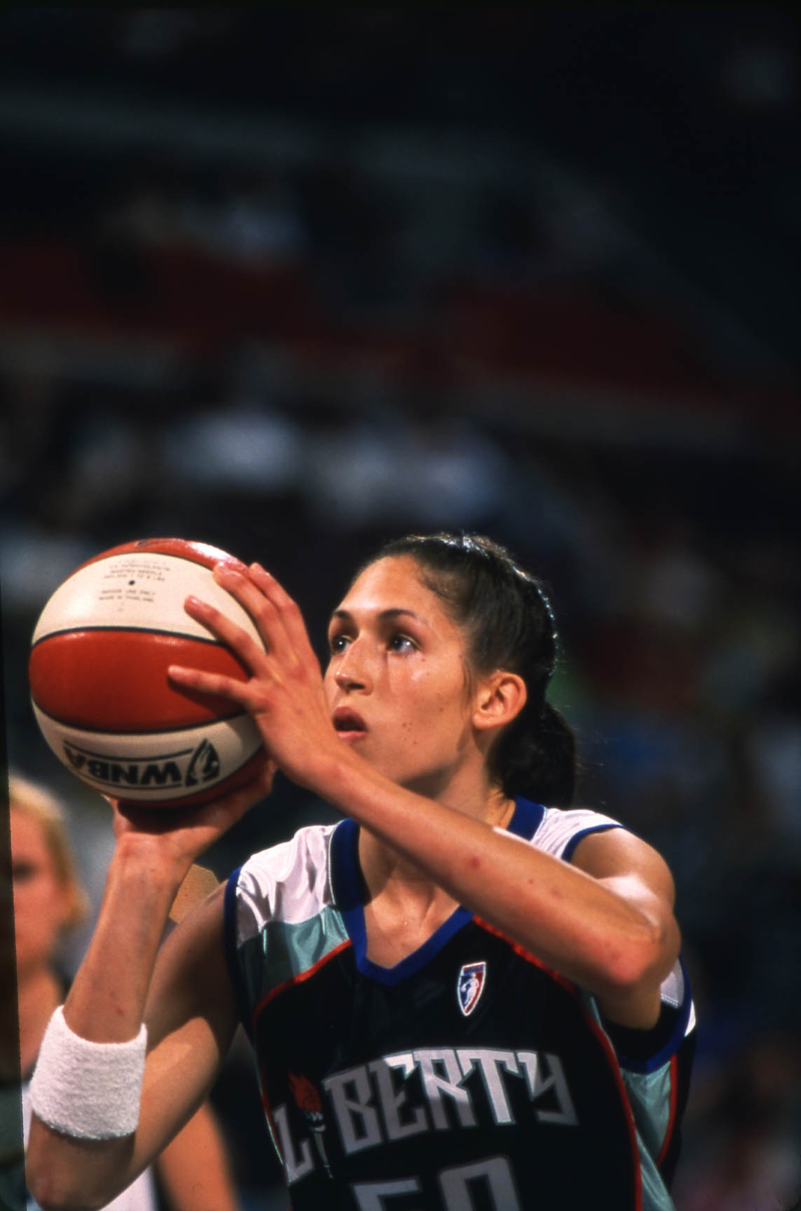 C. 1997: Rebecca Lobo of the New York Liberty.